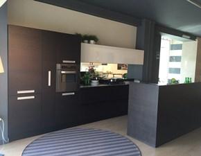 Cucina rovere moro moderna ad angolo Lucrezia Cesar cucine scontata