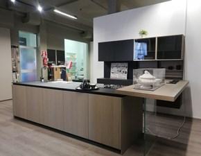 Cucina rovere moro moderna lineare 3.1 Copat cucine in Offerta Outlet
