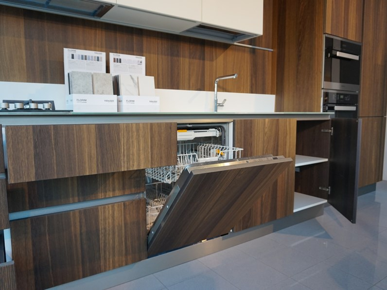 Cucina dibiesse area 22 rovere termocotto Dibiesse in Offerta Outlet