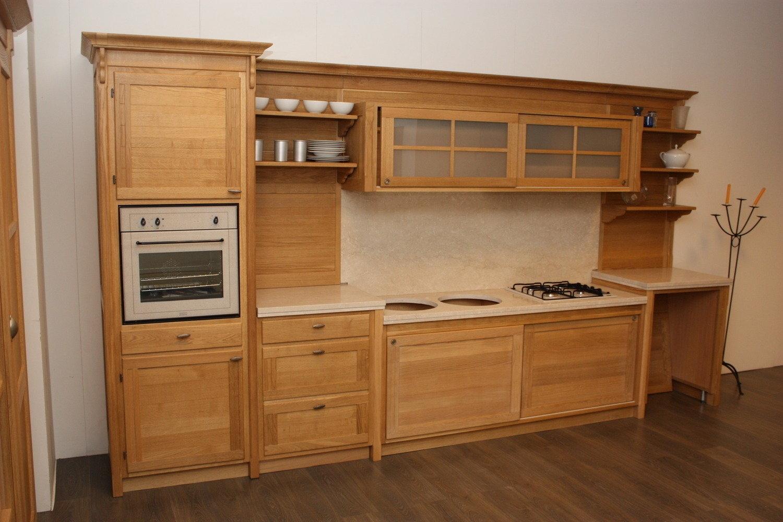Cucina rovere naturale - Cucine a prezzi scontati