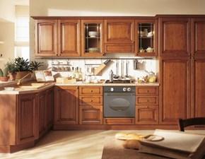CUCINA S75 Cucina mod.viola in legno di acacia scontata del 30% PREZZO OUTLET