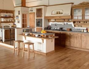 Cucina Salaiolo Ry legno massello serie salart.110 cucina count OFFERTA OUTLET