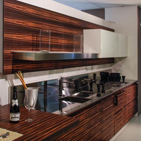 Cucina salvarani high teak legno cucine a prezzi scontati - Cucine in teak ...