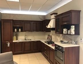 Cucina Saturnia classica noce ad angolo Stosa cucine