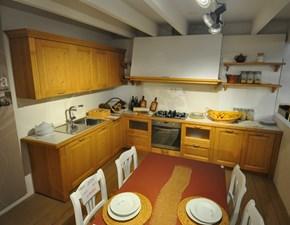 Cucina Scandola in legno di abete PREZZI OUTLET