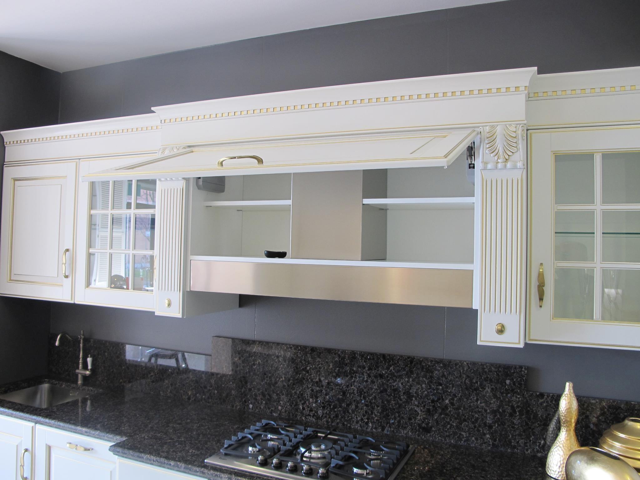 Cucine Scavolini Baltimora Prezzi : Cucina scavolini baltimora classiche laccate opaco bianca