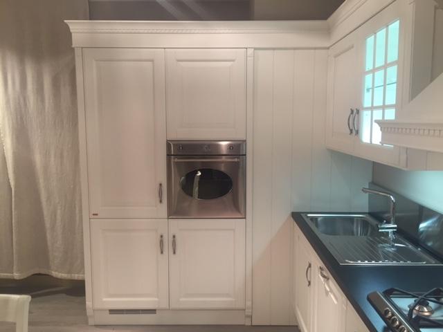 Cucina scavolini baltimora classico laccate opaco bianca   cucine ...