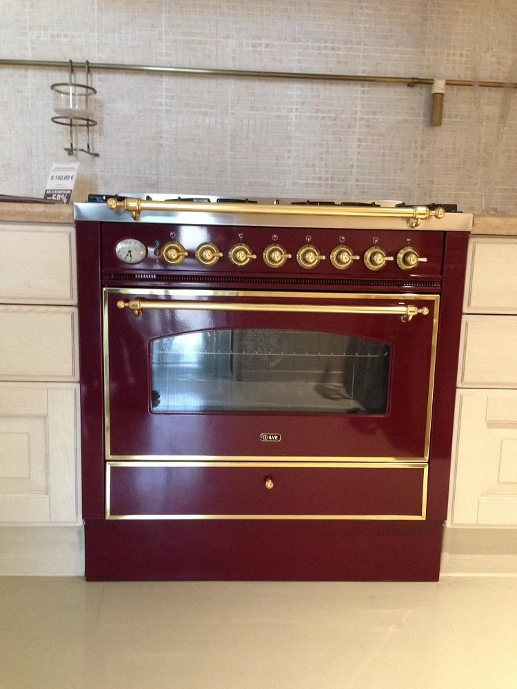 Cucina scavolini baltimora classico legno bianca scontata - Cucina baltimora scavolini ...