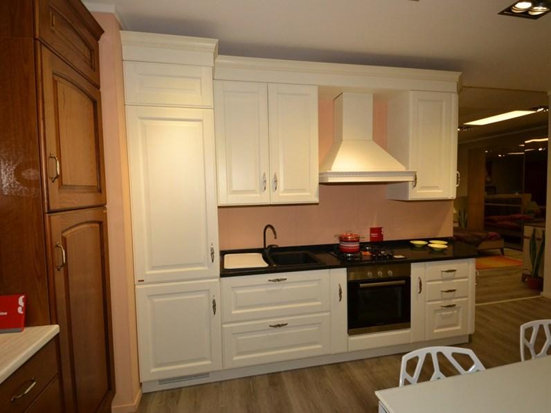 Cucina scavolini baltimora in rovere bianco - Cucina scavolini baltimora ...