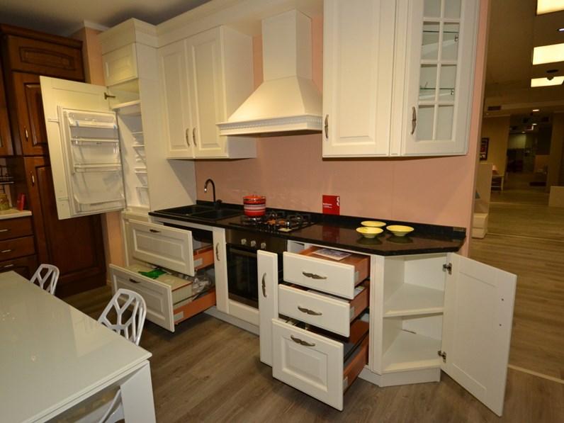 Cucina scavolini baltimora in rovere bianco - Cucina baltimora scavolini ...