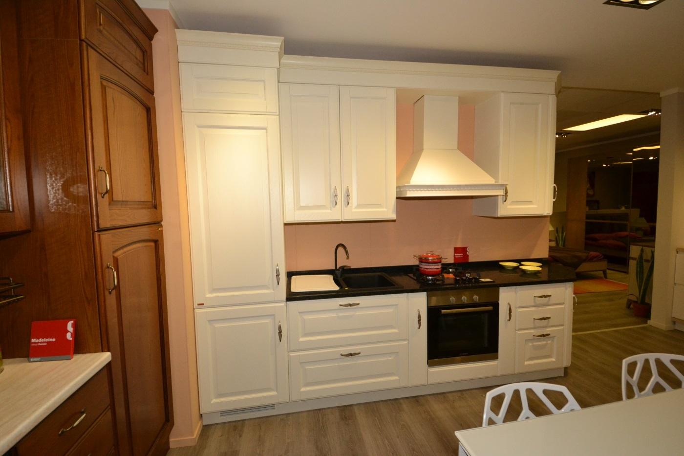 Cucina scavolini baltimora in rovere bianco cucine a - Cucina rovere bianco ...