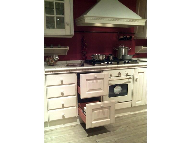 Ultimo saldo cucina scavolini baltimora stile classico offerta esposizione - Cucina scavolini baltimora ...