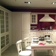 Cucina Scavolini Baltimora angolare frassino bianco