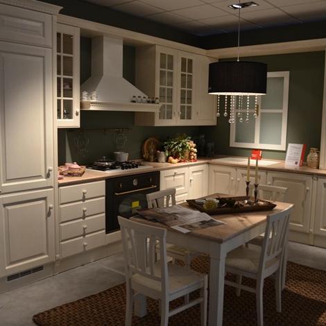 Cucina scavolini baltimora frassino bianco   cucine a prezzi scontati