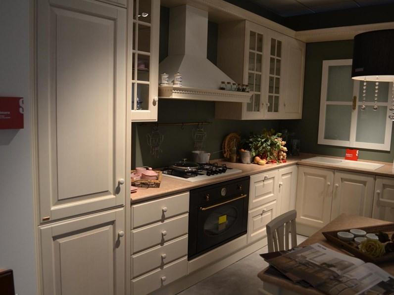 Cucina Scavolini Baltimora frassino bianco scontato del -64 %
