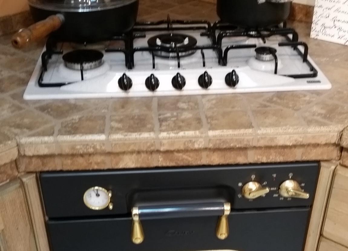 Cucina scavolini belvedere muratura scontato del 63 for Piano cottura cucina