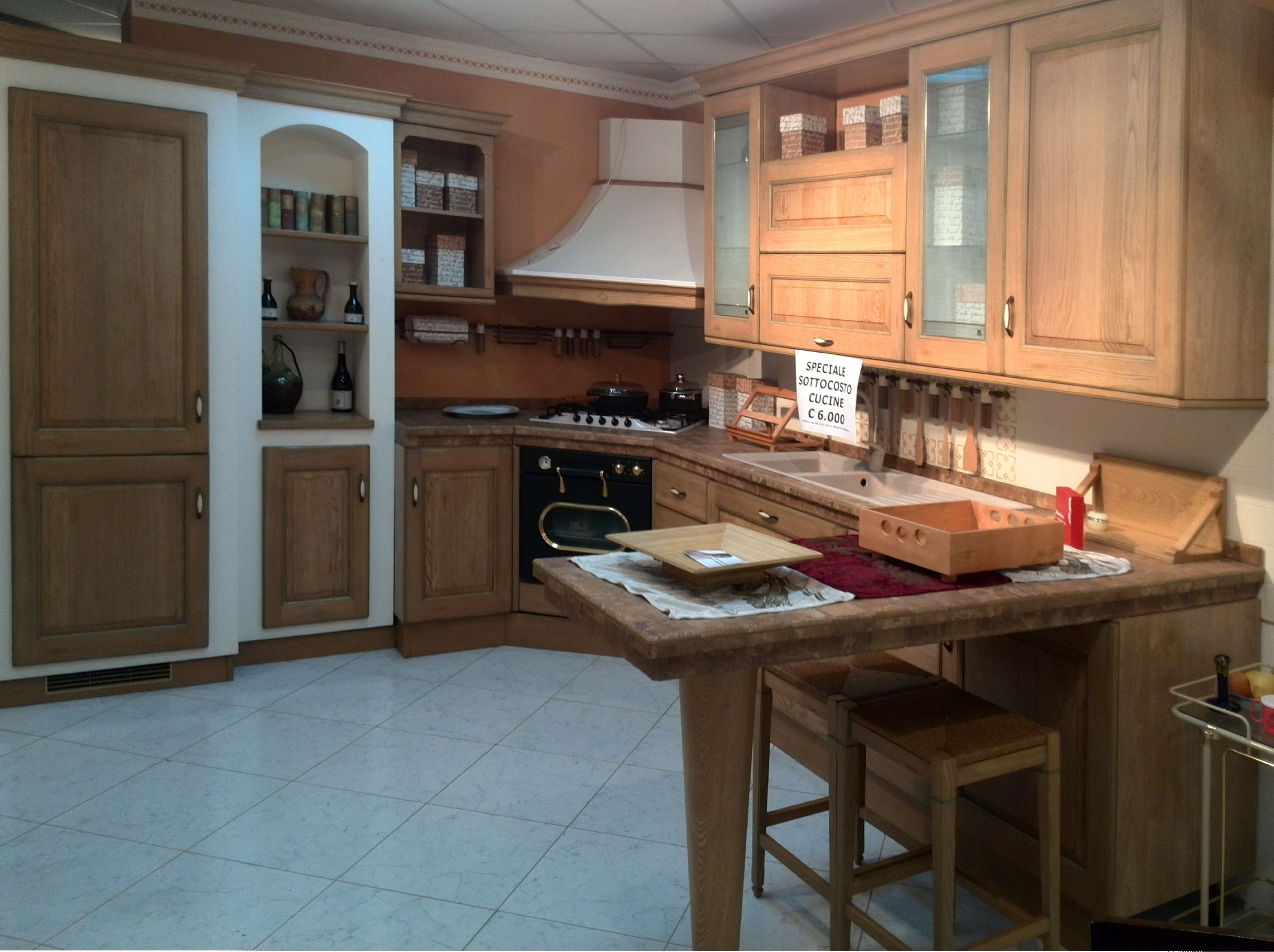 Cucina Scavolini Belvedere muratura scontato del -67 % ...