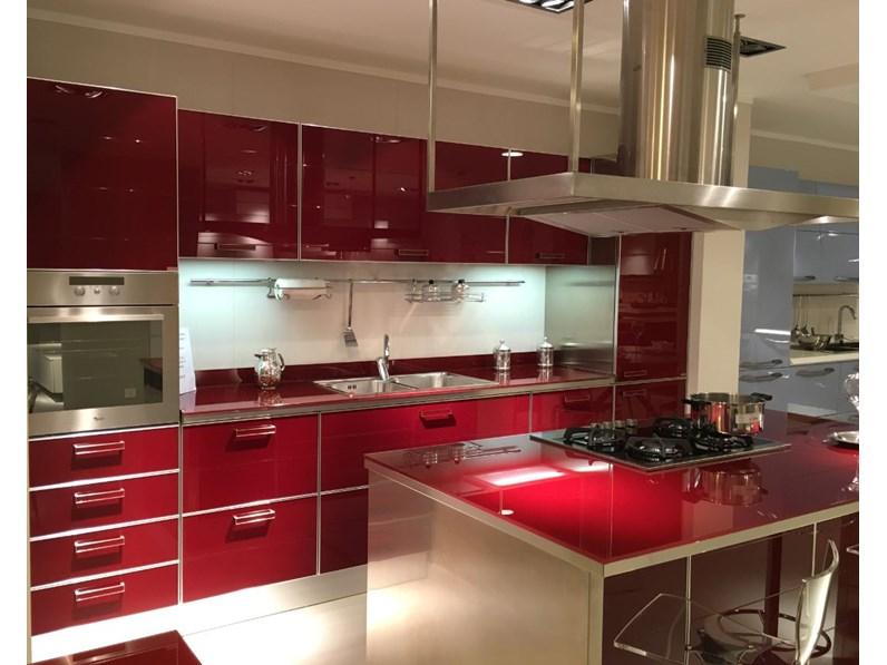 Cucina in vetro Scavolini modello Crystal scontata - Cucine a ...