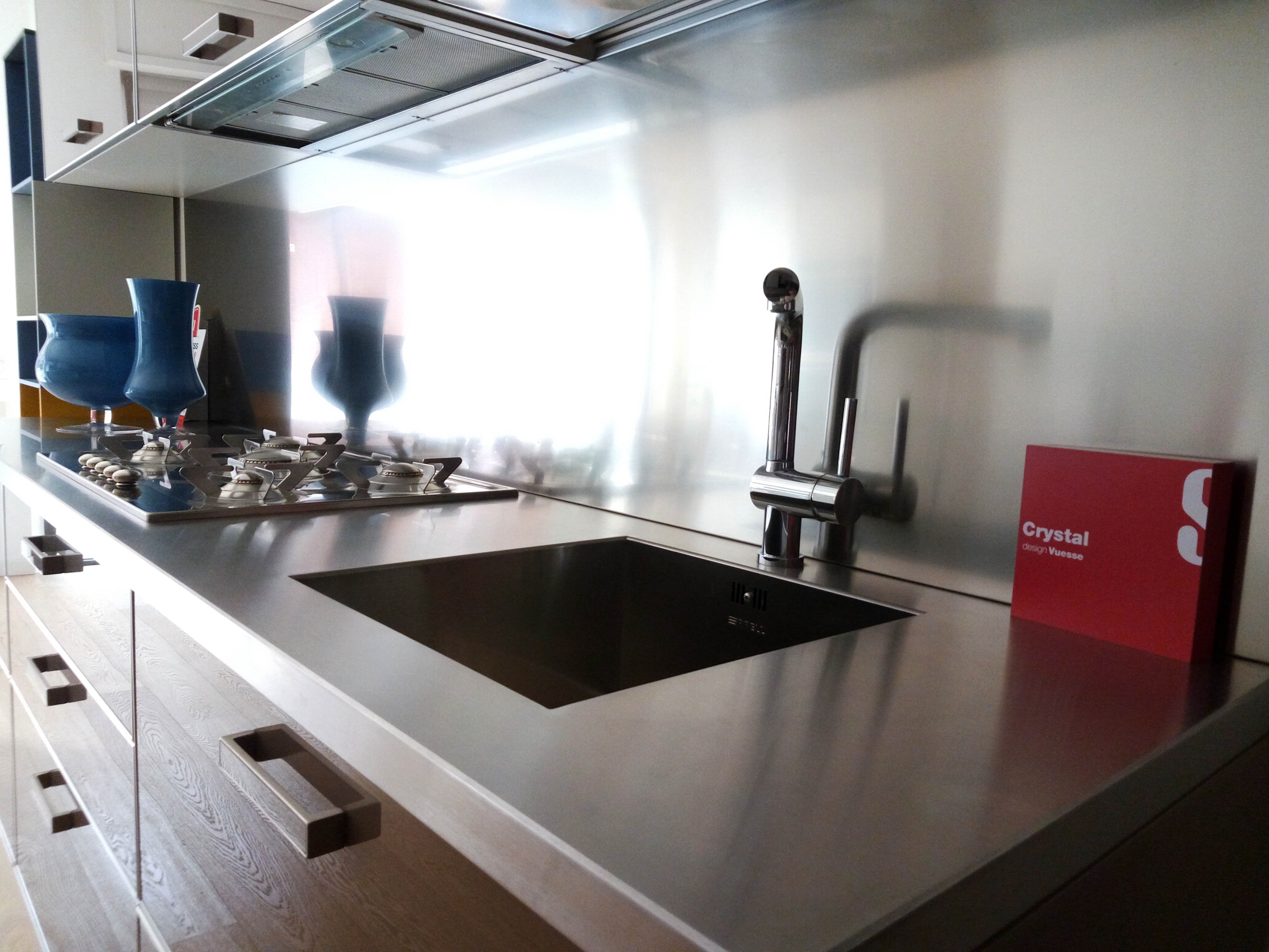 Cucina scavolini crystal scontato del 40 cucine a prezzi scontati - Cucina crystal scavolini ...
