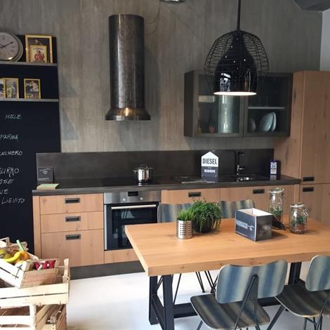 outlet Cucina Scavolini Diesel in offerta a prezzo scontato
