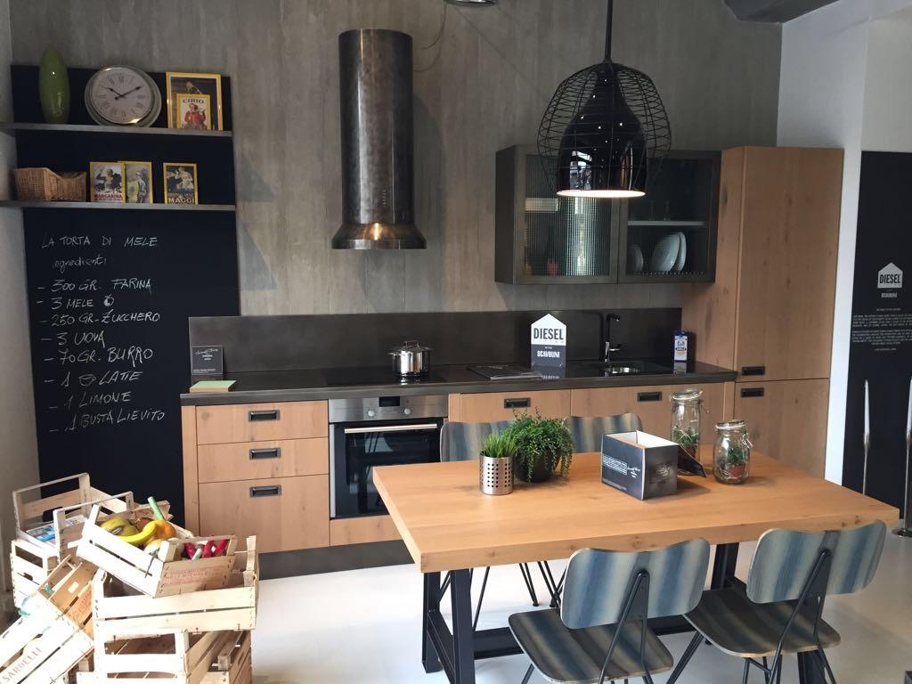 Cucina Scavolini Diesel in offerta a prezzo scontato - Cucine a ...