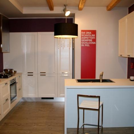 Cucina Scavolini Esprit telaio legno scontato del -52 % - Cucine a ...