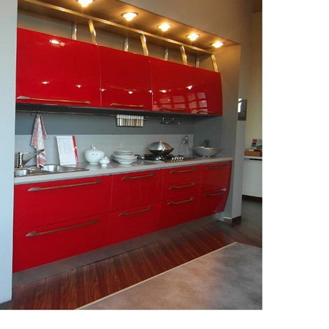 Cucina scavolini flux laccato lucido cucine a prezzi - Barra portautensili cucina scavolini ...