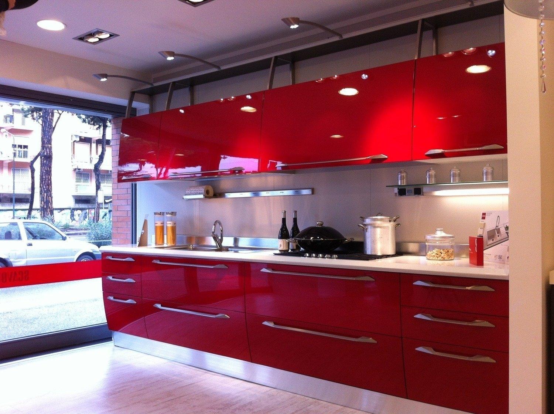 Stunning Cucina Rossa Scavolini Gallery - bakeroffroad.us ...