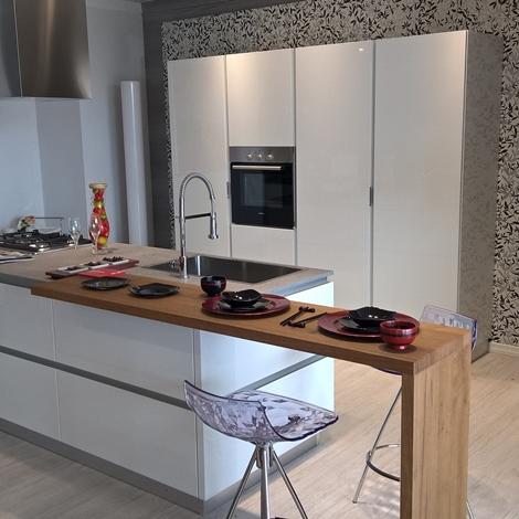Cucina scavolini foodshelf moderno laccato lucido bianca cucine a prezzi scontati - Scavolini cucina bianca ...