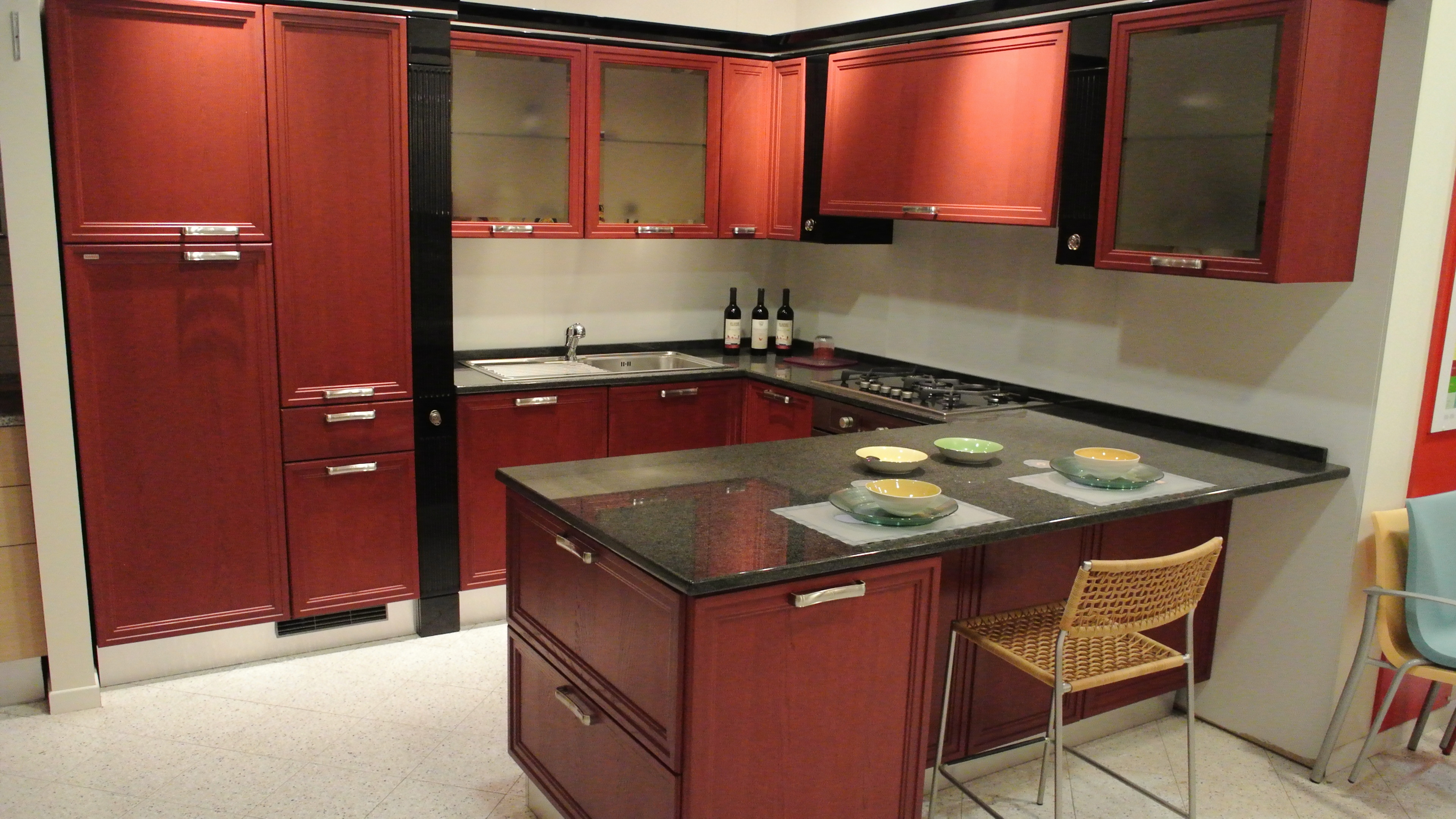Awesome Cucina Rossa Scavolini Pictures - House Interior ...