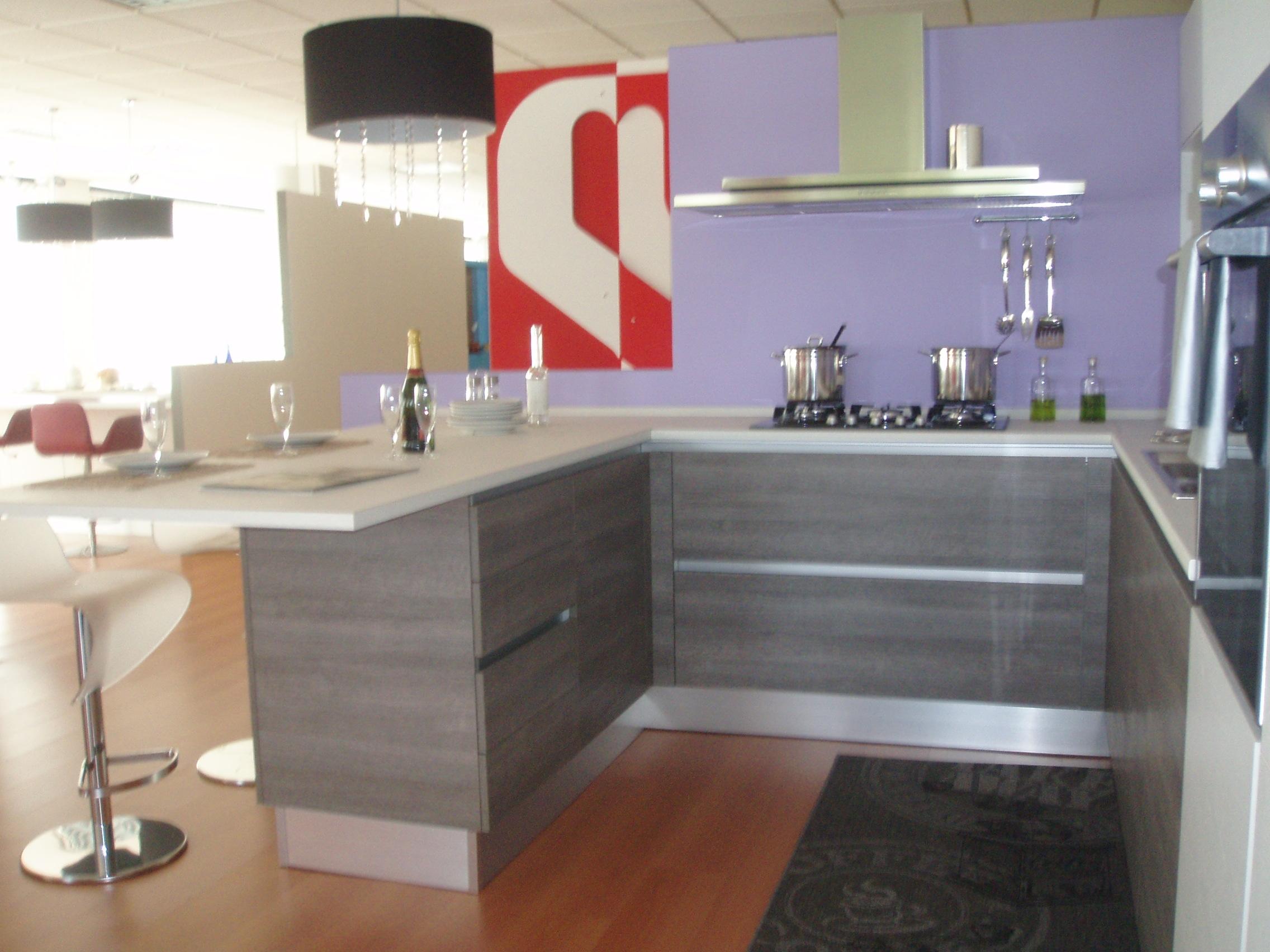 Cucina A Penisola Moderna Scavolini ~ Idee Creative di Interni e Mobili