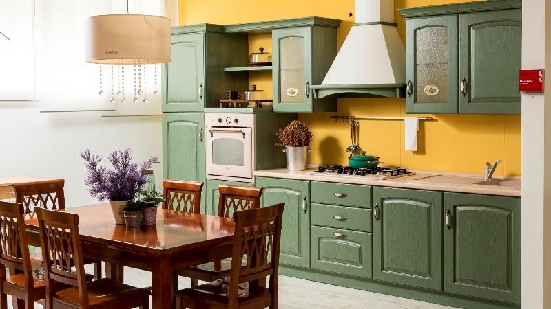 Cucina scavolini medeleine scontato del 40 cucine a - La cucina verde ...