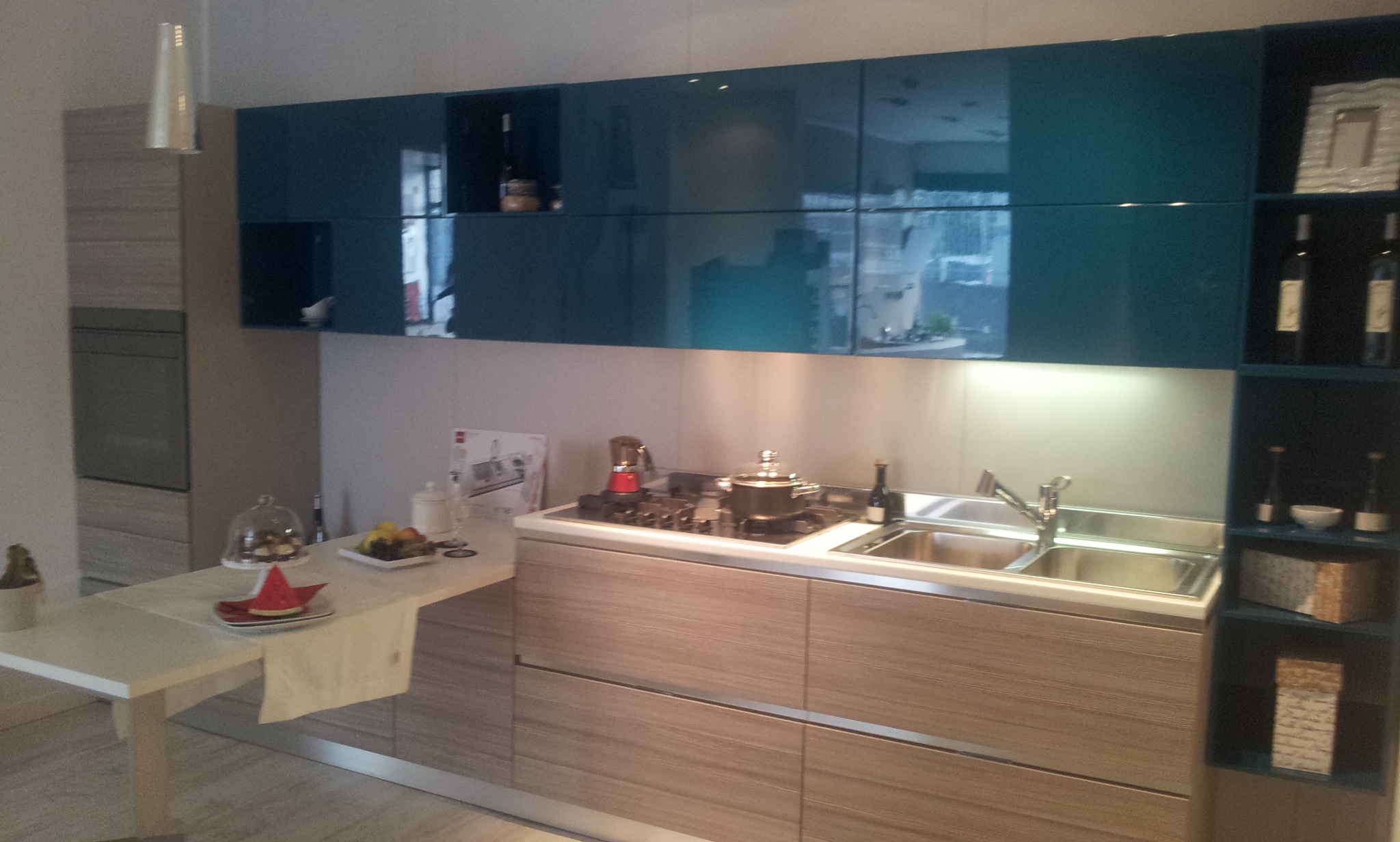 Emejing Cucina Larice Grigio Ideas - bery.us - bery.us