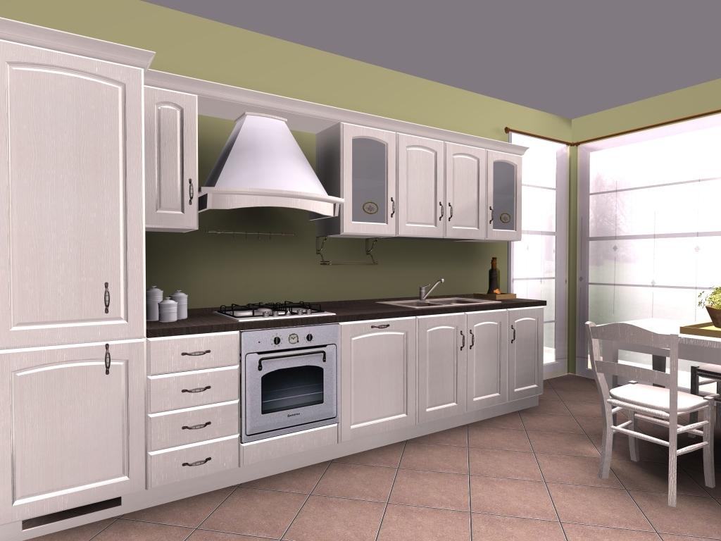 Stunning cucine classiche lineari pictures ideas for Tre erre arredamenti