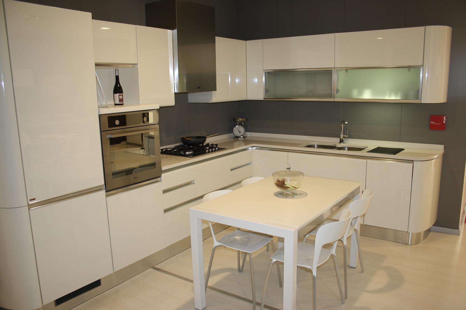 Cucina scavolini mod tess cucine a prezzi scontati - Scavolini cucina bianca ...