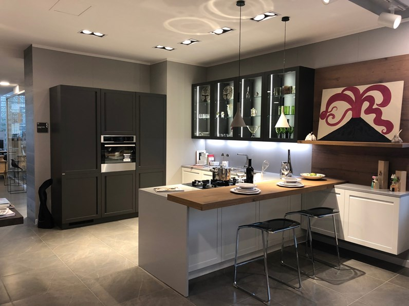 Cucina Scavolini modello carattere in Offerta Outlet