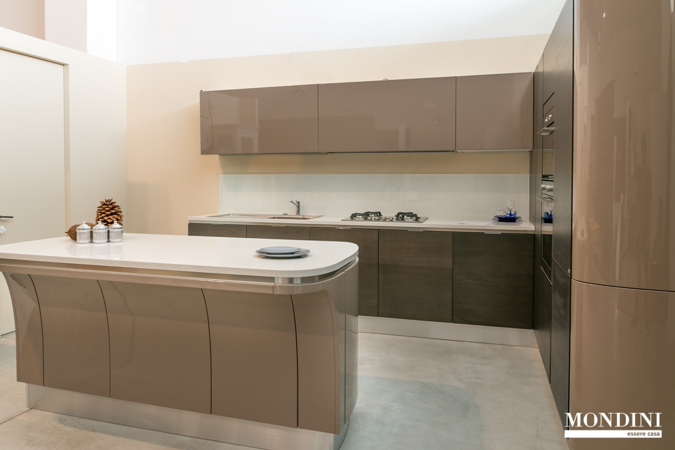 Cucina Scavolini modello Mood con isola scontata del 69% - Cucine ...