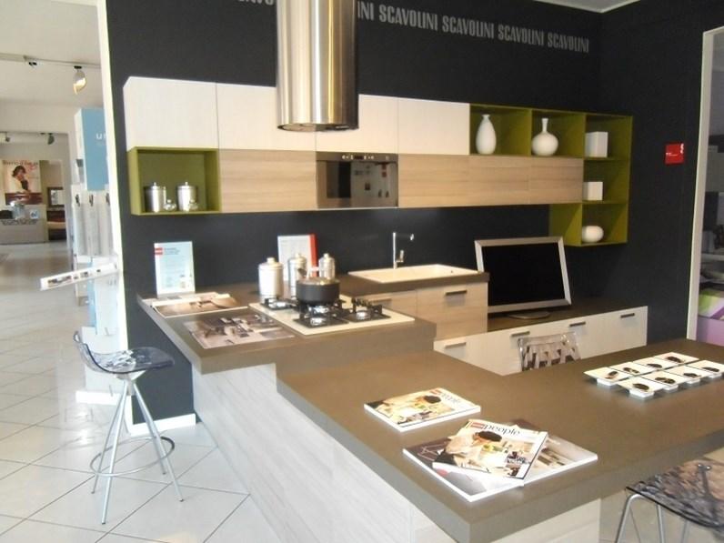 Cucina scavolini mood offerta outlet for Spaggiari arredamenti