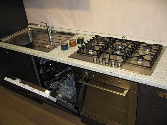 Mobile Cucina Con Lavello E Lavastoviglie.Piano Cottura Forno E Gallery Of Riguardo Il Piano Cottura Invece