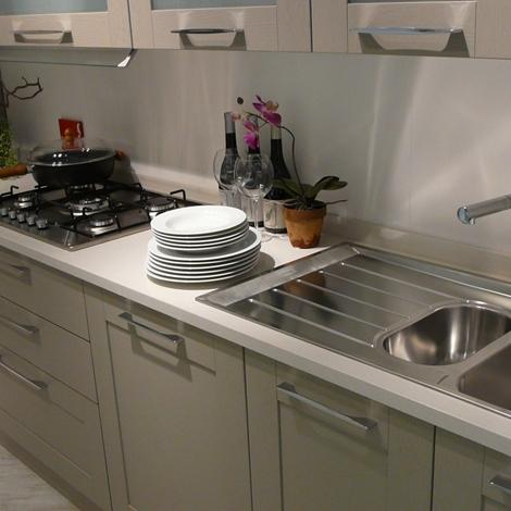 Cucina scavolini open moderna legno tortora   cucine a prezzi scontati