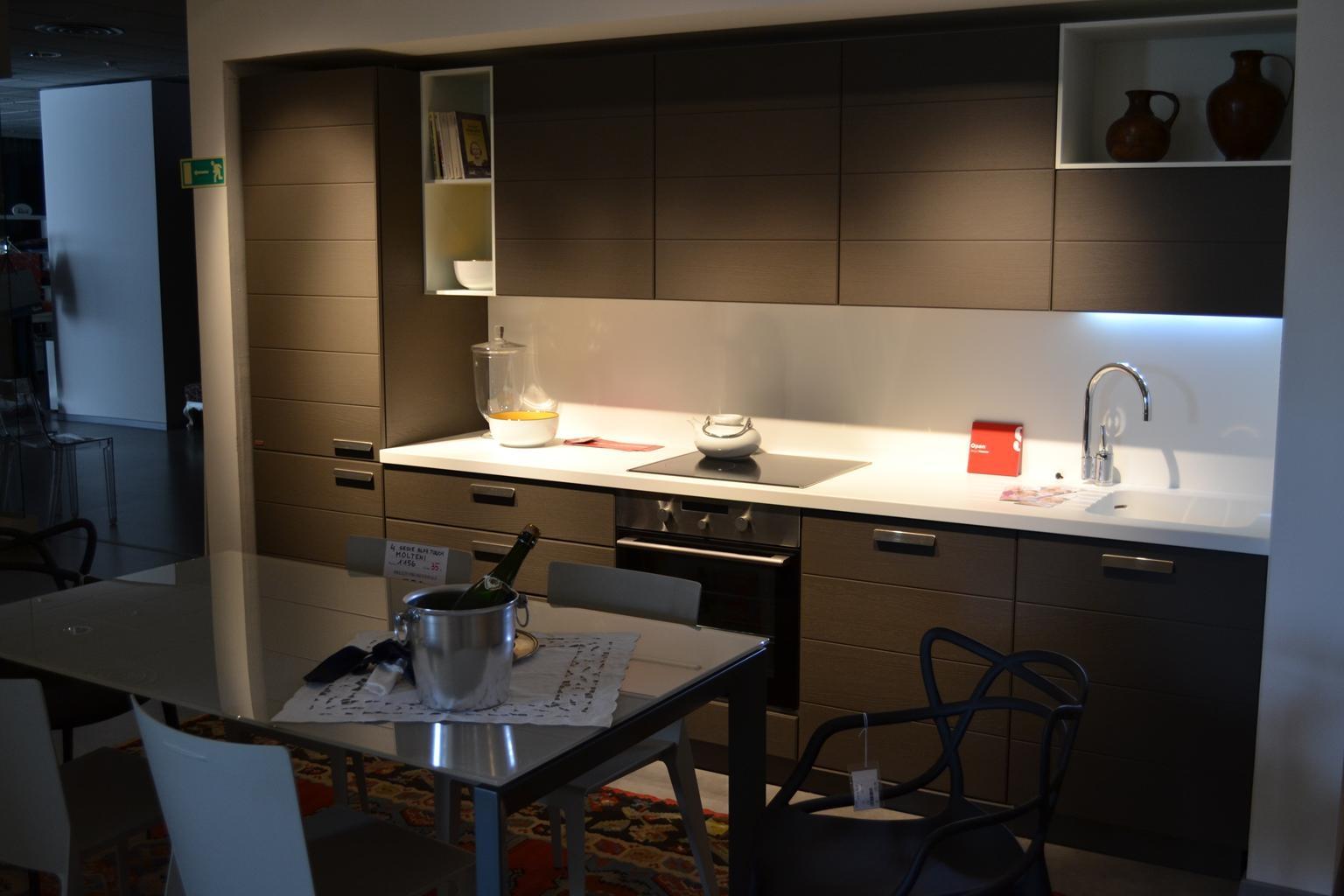 Cucina scavolini open rovere titanio cucine a prezzi - Cucina scavolini open prezzi ...