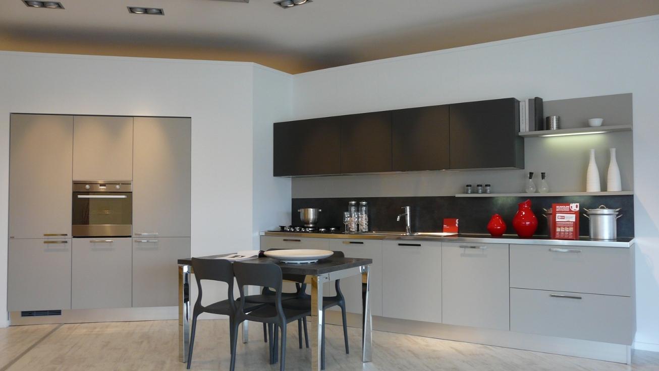 Cucina Scavolini Sax Moderna Laccato Opaco - Cucine a prezzi scontati