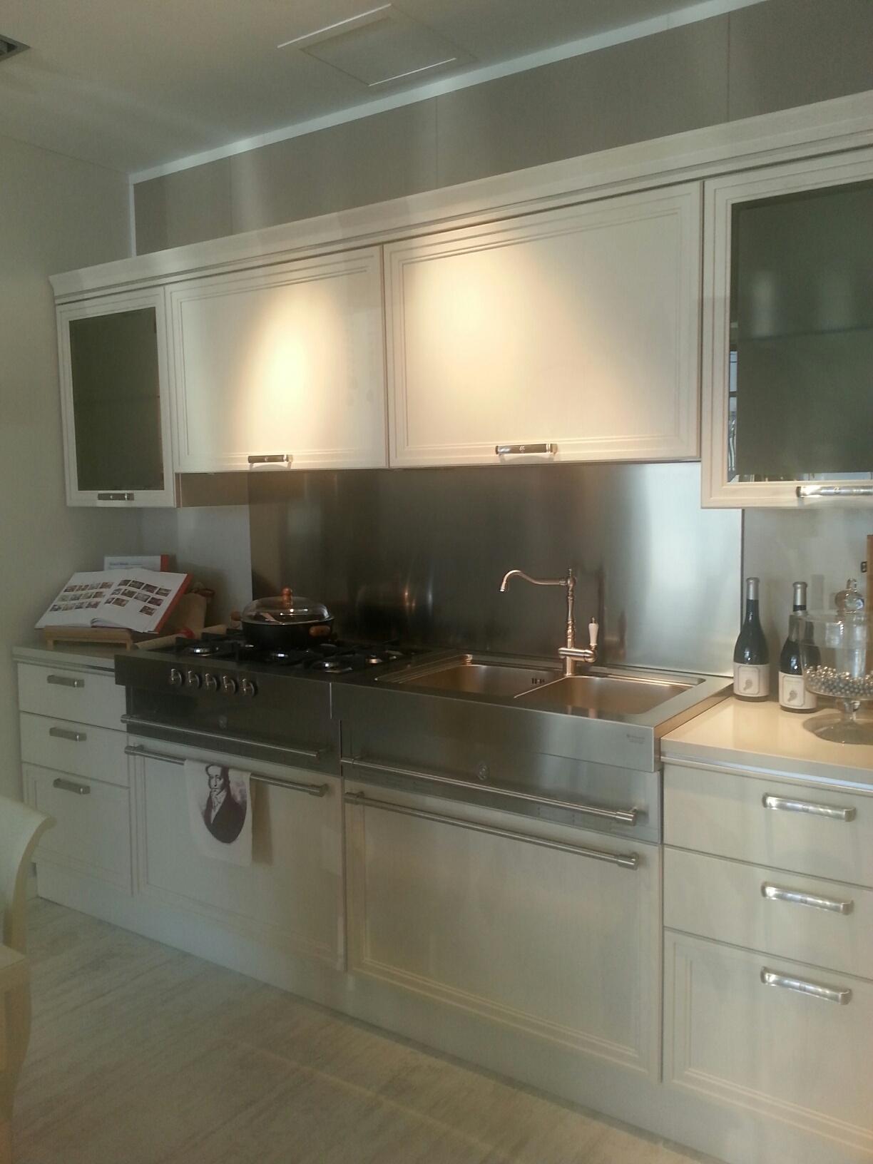 Cucina Scavolini Scavolini Modello Grand Relais Okite Anche A Muro  #91793A 1224 1632 Top Cucina Corian O Okite