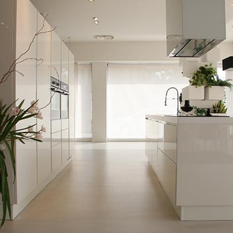 Cucina con isola scavolini scenery scontata del 45 - Cucine componibili scavolini prezzi ...