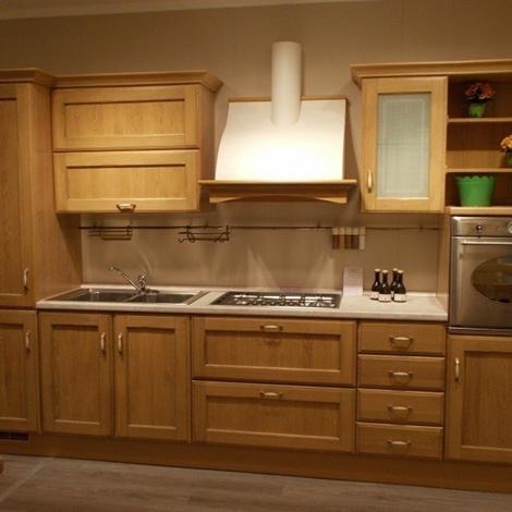 Cucina scavolini modello cora legno cucine a prezzi scontati - Barra portautensili cucina scavolini ...