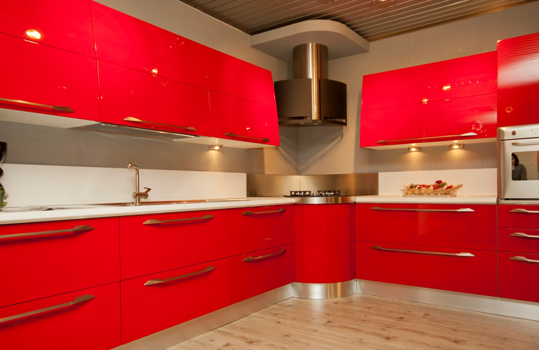 Beautiful Cucina Rossa Laccata Images - Ridgewayng.com ...