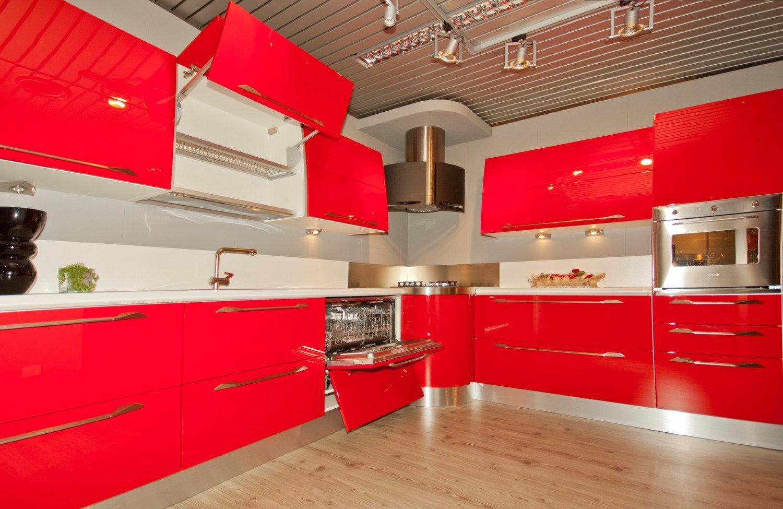 Emejing Cucina Rossa Scavolini Photos - Acomo.us - acomo.us