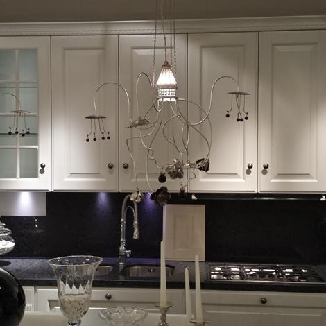 Scavolini cucina baltimora classica laccato opaco bianca   cucine ...