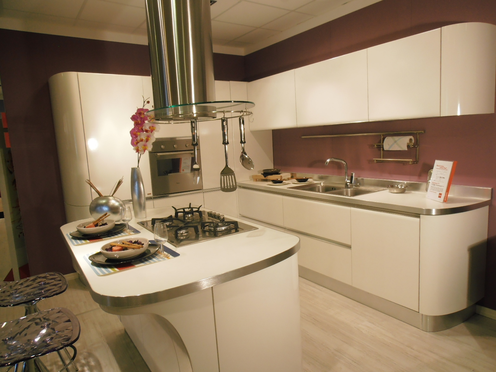 Cucina scavolini tess moderna cucine a prezzi scontati - Scavolini cucina bianca ...