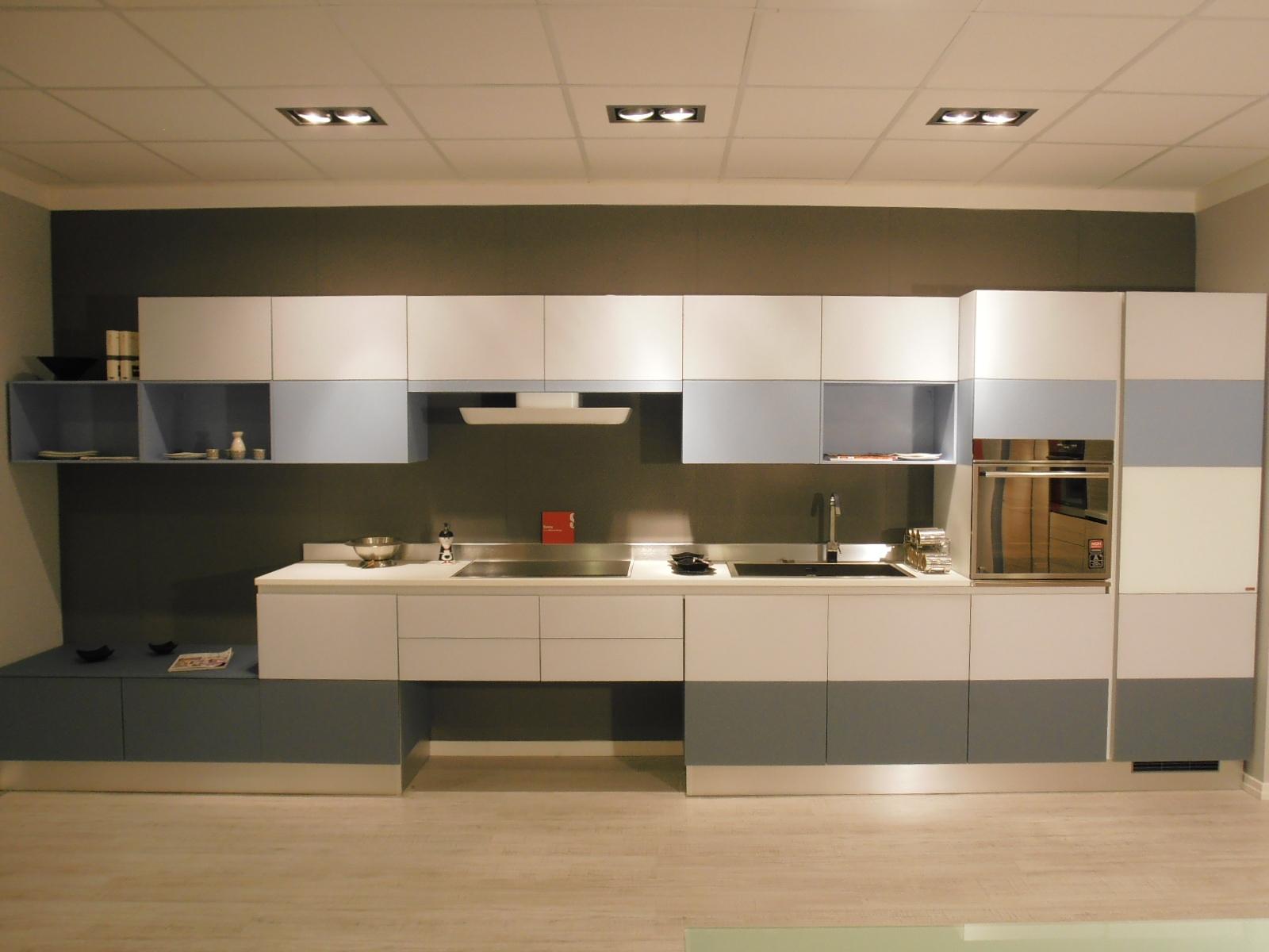 Cucina Scavolini Tetrix Design Vetro - Cucine a prezzi scontati